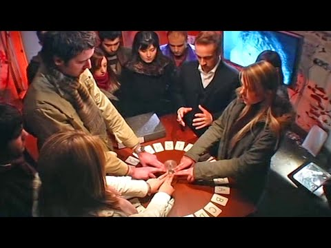 Contact Spirits Using A Ouija Board - Derren Brown