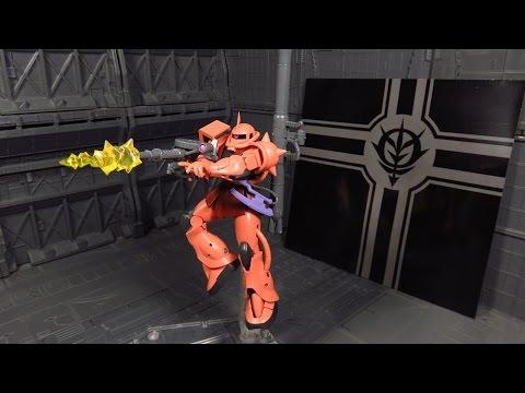 Robot Spirits/Damashii - Char's Zaku II Anime ver. Review