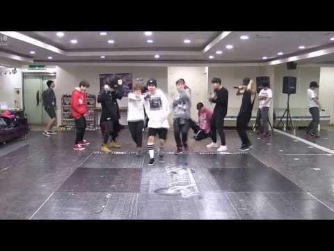 BTS - Attack on BTS dance mirror