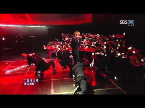 양요섭 (Yoseop) of BEAST [Caffeine (카페인)] @SBS Inkigayo 인기가요 20121209