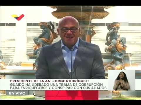Guaidó acordó con Paraguay disminuir ilegalmente gran deuda de ese país con Pdvsa: Jorge Rodríguez
