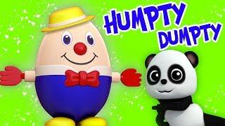 Шалтай-Болтай сидел на стене | детские рифмы | Humpty Dumpty