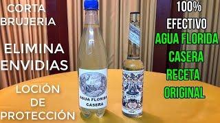 CORTA BRUJERIA LOCION DE PROTECCION PODEROSA AGUA FLORIDA CASERA RECETA ORIGINAL