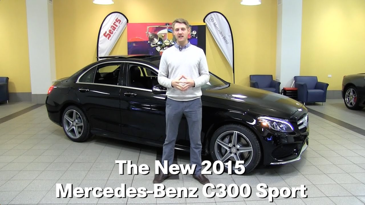 The new 2015 mercedes benz c300 sport c class minneapolis for Mercedes benz bloomington mn