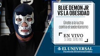 Blue Demon Jr. VS la obesidad