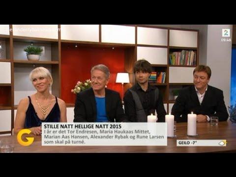 Alexander Rybak & Stille Natt Hellige Natt in God Morgen Norge - 23.11.15