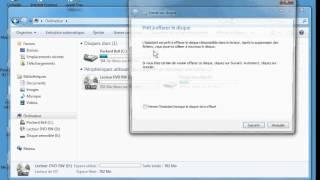Comment effacer tous les dossiers enregistrés sur un CD avec Windows7.www.formenligne.org
