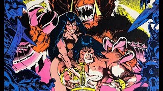 CONAN THE BARBARIAN #152 review by 80sComics.com