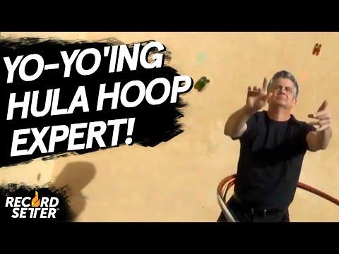 Most Consecutive Yo Yo Loops While Hula Hooping