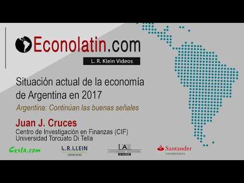 Situación actual de la  economía de Argentina en 2017. Actualizado en octubre de 2017