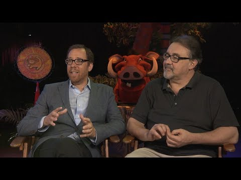 'The Lion King' Creators Weigh In on Jon Favreau's LiveAction Remake