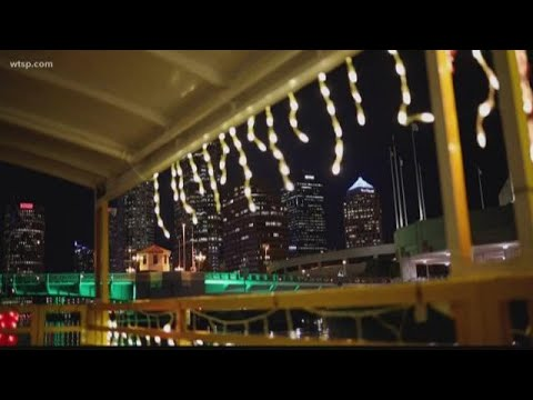 There's A River Of Lights Right In The Heart Of Downtown Tampa