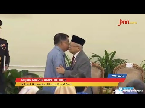 Ma'ruf Amin Bakal Terus Berkonsultasi Dengan JK