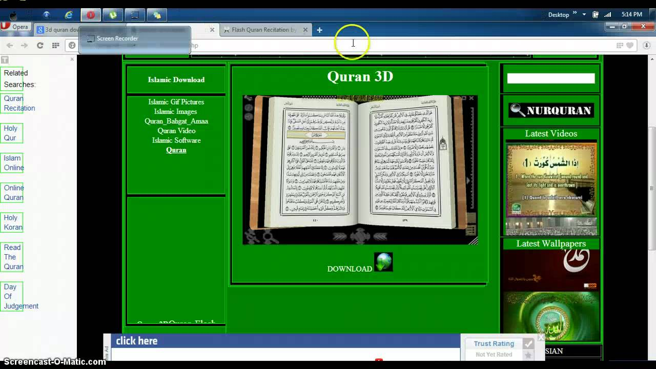 Holy quran free download.