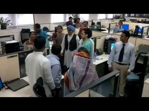 PopliLive Skit at Mindspeed Technologies India Design Center !