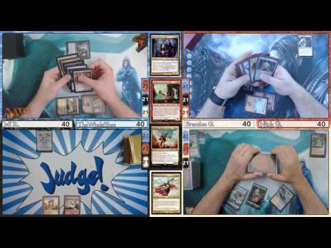 MTG Lexicon - Episode 48.1 - EDH Bro Down Throw Down (Game 1 Highlight)