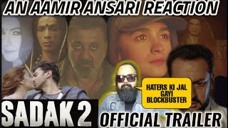 SADAK 2 TRAILER | REACTION | REVIEW | SANJAY DUTT | ALIA BHATT | MAHESH BHATT | ADITYA ROY KAPOOR