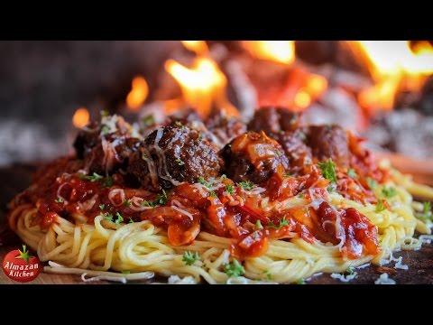 Thumbnail: BEST SPAGHETTI AND MEATBALLS! - Ultimate Cooking Outside!