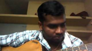 Annal Mele Panithuli song - SARATH ,P,G GUITAR SONG( Vaaranam Aayiram)