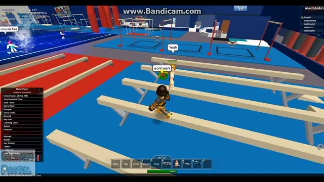 Roblox Gymnastics Game - Roblox Lets Play Empire Gymnastics