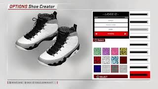 0faa19d36e01b0 NBA 2K18 Shoe Creator Air Jordan 9
