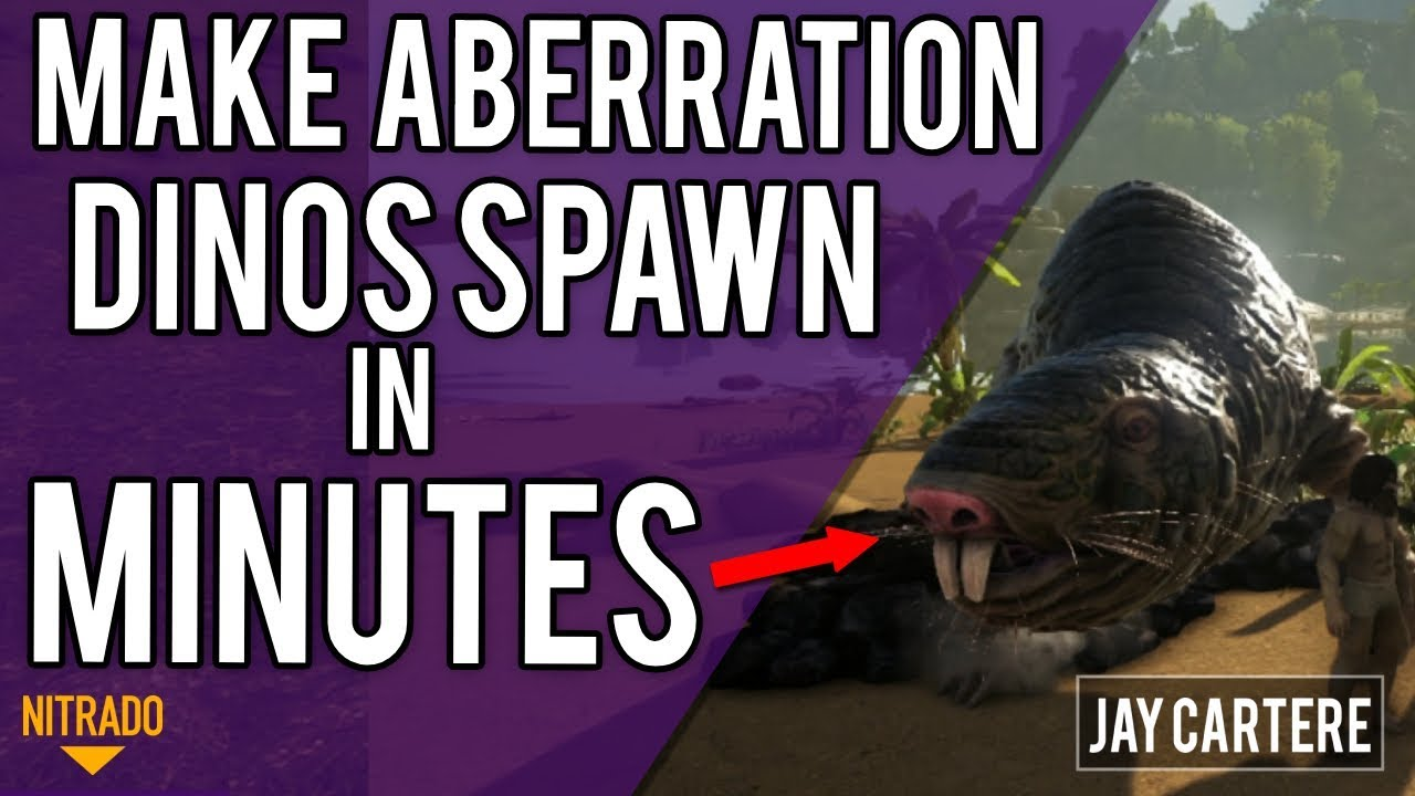How To ADD ABERRATION DINO SPAWNS To Your Server IN MINUTES