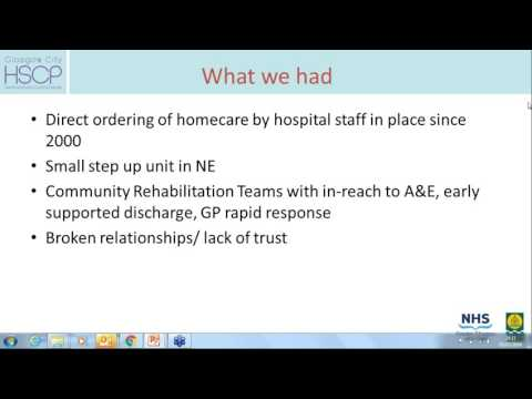 Lorna Dunipace, GHSCP - Glasgow Integrated Care for Older People – Intermediate Care