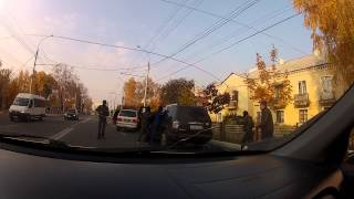 Захват машины в Брянске