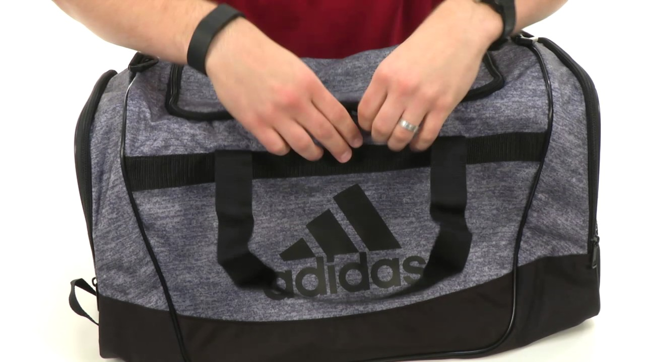 adidas - Defender II Duffel Medium SKU 8493760 - YouTube d57f8c288dd92