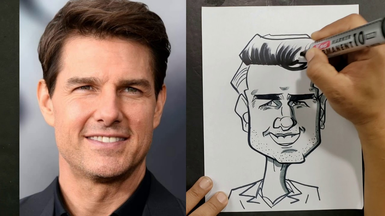 How To Get Started Drawing Caricature The Easy Way Youtube