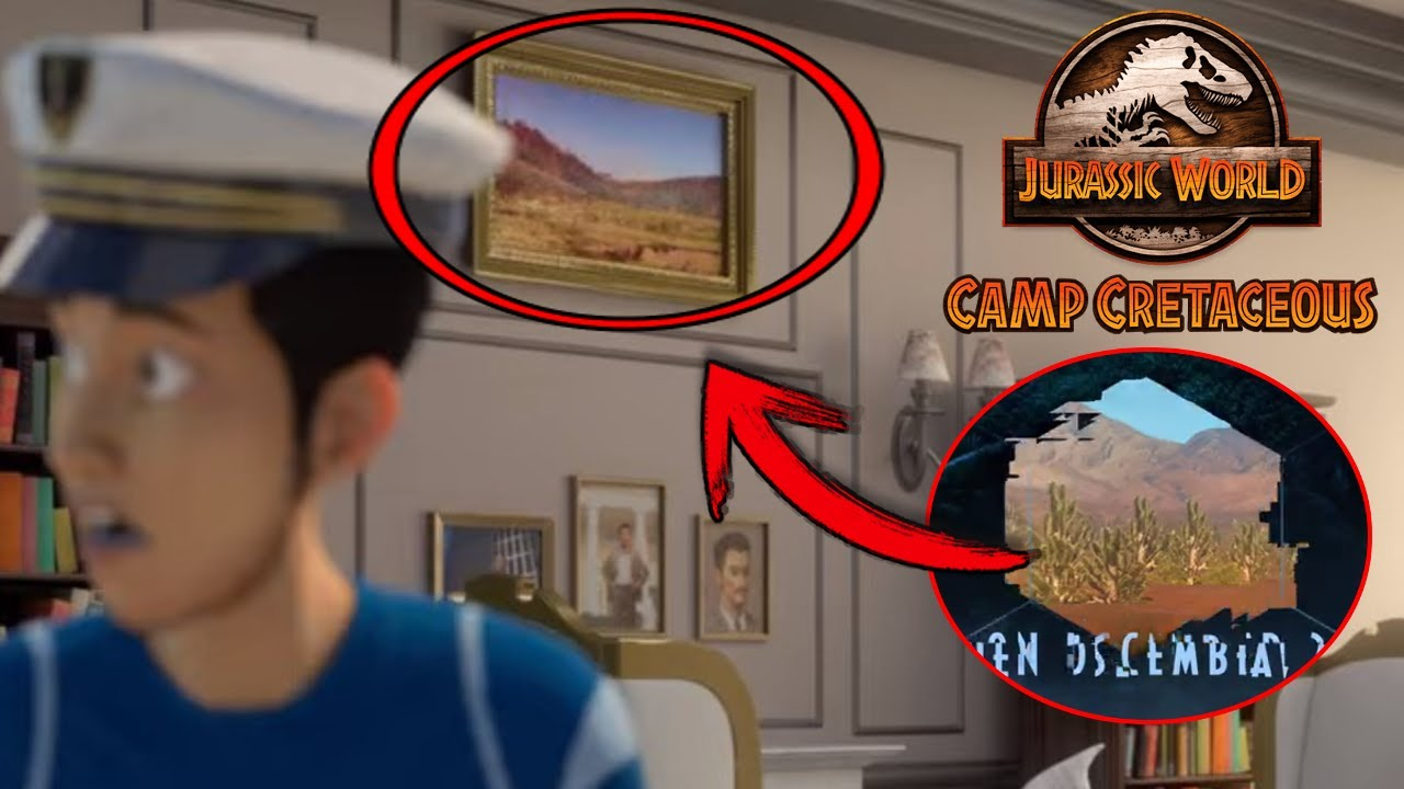 Download SEASON 4 TEASER LOCATION FOUND? KENJI'S DAD IS NOT WHO YOU THINK! - Camp Cretaceous Season 4