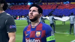 This video features the very first gameplay of fifa 20 .