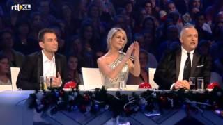 Amira Willighagen - Feedback Jury - Finals Holland's Got Talent - 28 December 2013