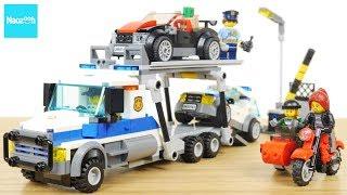 レゴ シティ 車どろぼうとポリスレッカー 60143 / LEGO CITY,  LEGO City Police Auto Transport Heist 60143