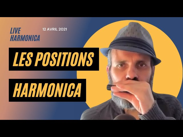 Les positions de l'harmonica