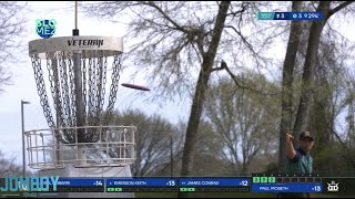 Paul McBeth shoots 18 under in Disc Golf for the second time, a breakdown