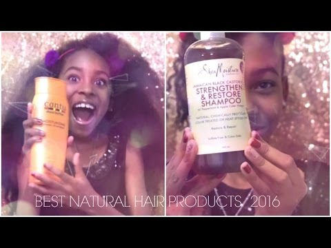 Best NATURAL Hair Products of 2016 for Women & Kids - YouTube