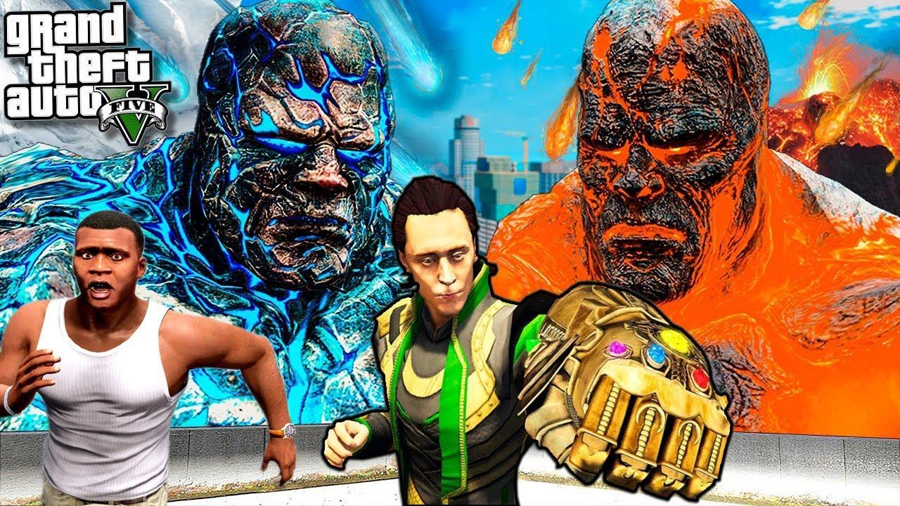 "LOKI Stole ""GOD GAUNTLET"" & Destroyed LOS SANTOS | GTA5 AVENGERS"