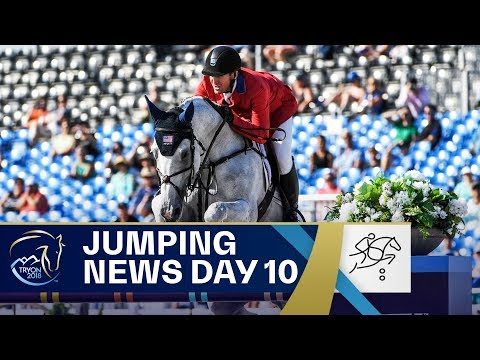 USA vs Sweden: the Jump-Off for Gold  Jumping  FEI World Equestrian Games 2018
