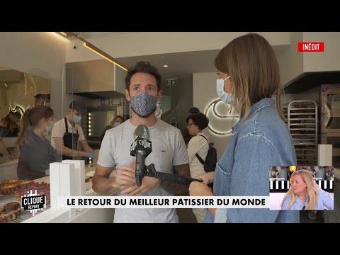 Cédric Grolet : Le retour du meilleur pâtissier du monde - Clique Report - CANAL+