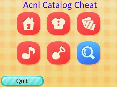 Animal crossing new leaf full catalog hack youtube for Animal crossing new leaf arredamento
