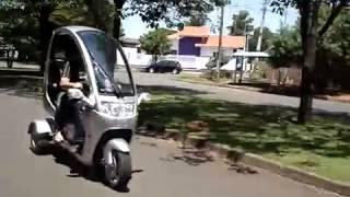 Трехколесный скутер трицикл с крышей. Trike, Трайк скутер с крышей(, 2014-09-14T15:18:19.000Z)