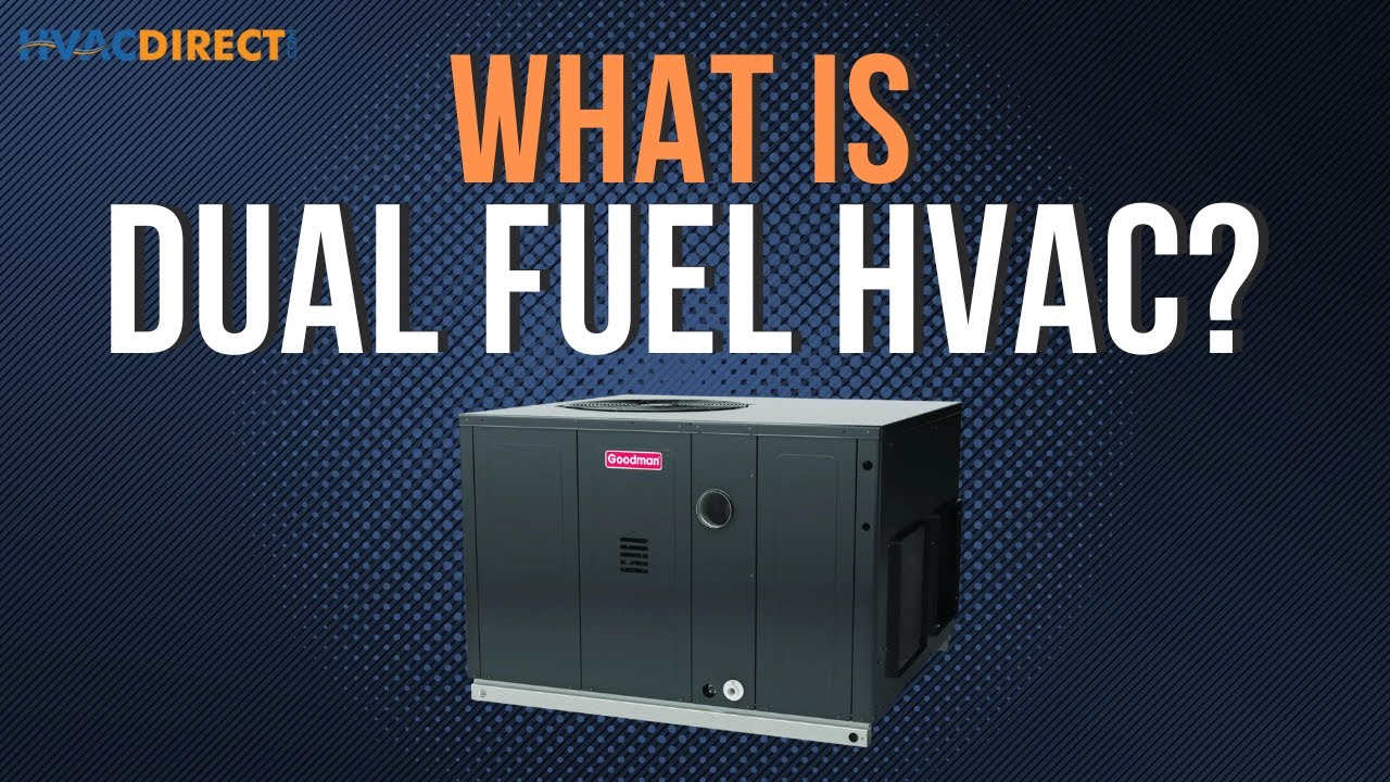 What Is A Dual Fuel Hvac Home Heating And Cooling System Youtube