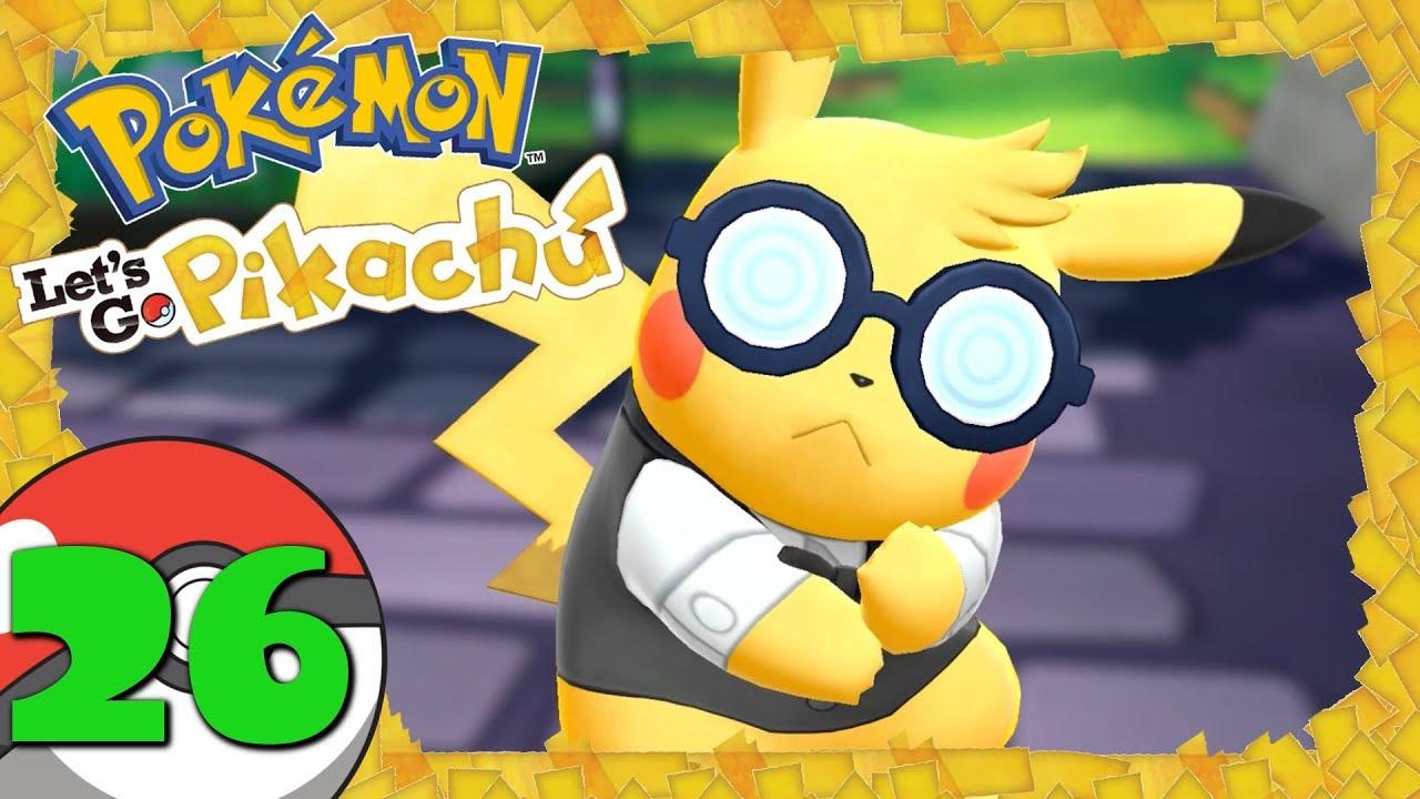 Pokemon Lets Go Pikachu 26 Neue Frisur Tragossos Mutter Relaxo