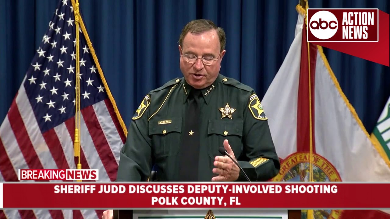 Man shot by Polk County deputies after pursuit | News Conference 10AM