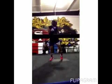 Me Vs Brandon (sparring) 2014