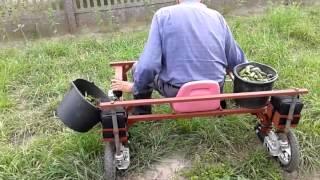 Ogórkobus, Wózek do zbioru ogórków.