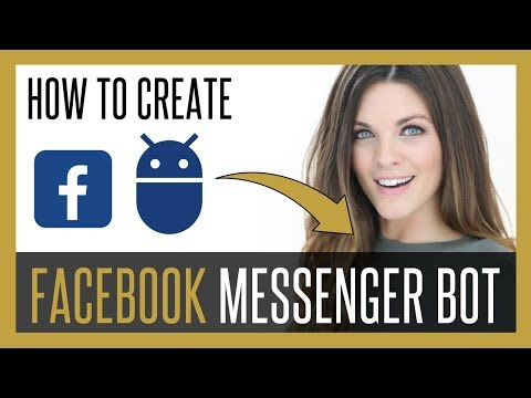 How To Create A Facebook Messenger Bot (MANYCHAT Tutorial) 2017
