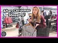 SHOPPING AFTER CHRISTMAS SALES!