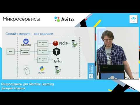 Микросервисы для Machine Learning | Дмитрий Ходаков